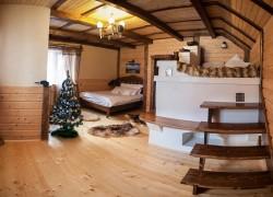 Отель в г.Яремче - Карпаты зимой