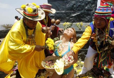 Царемонии в Перу