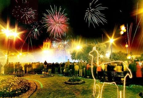 Новый год в Преу