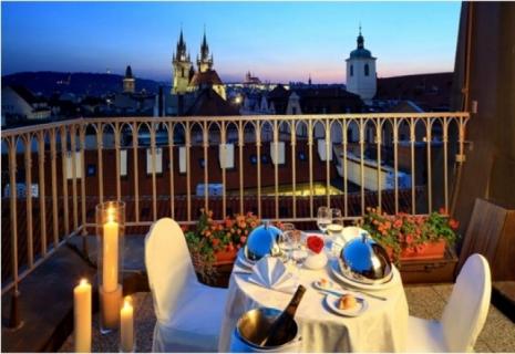 Романтический ужин Прага