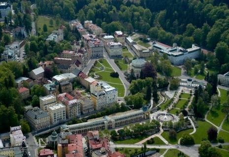 Лечебные туры в Чехию: МАРИАНСКИЕ ЛАЗНЕ – бальнеологический курорт Чехии