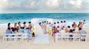 Cвадебная церемония во время заката солнца на берегу моря — Официальный брак в Турции!